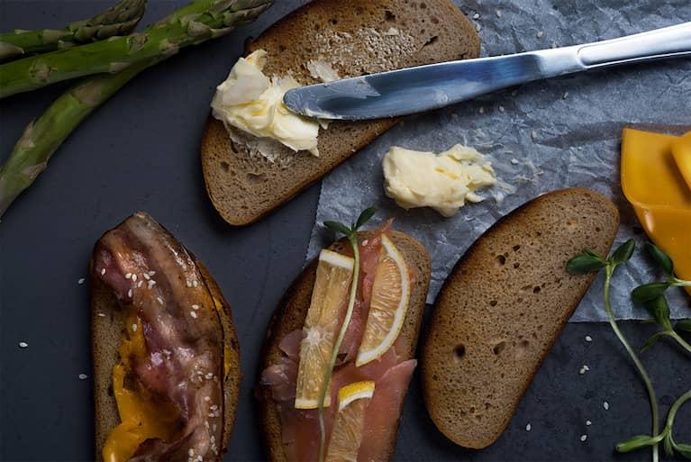 Gudobelė - šviesi duona