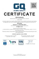 Global Quality Certificate